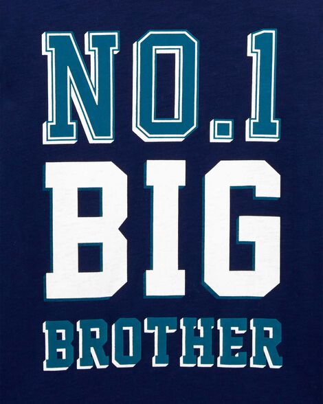 No.1 Big Brother Hooded Jersey Tee