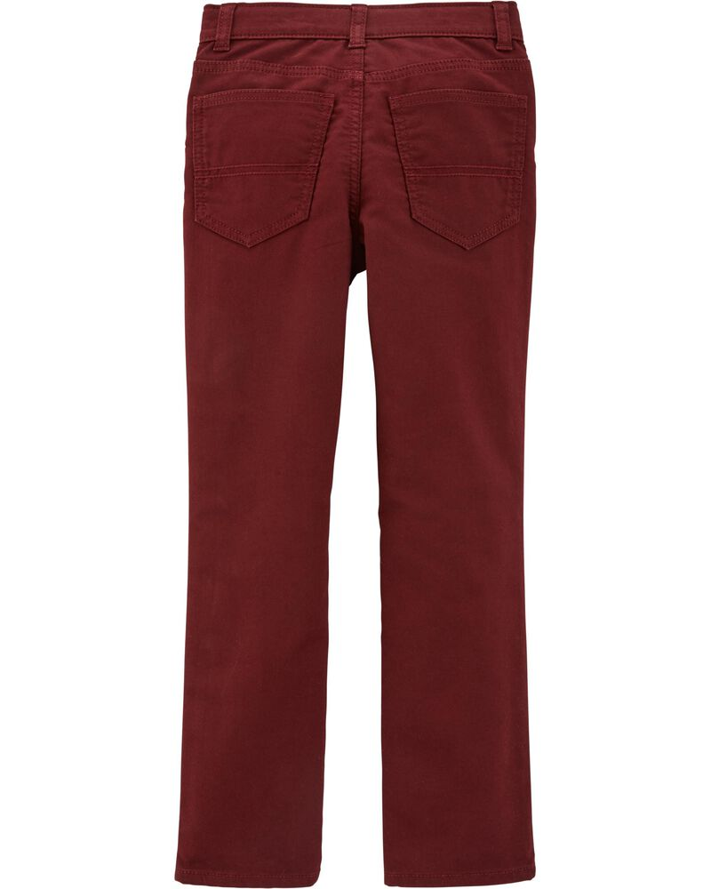 5-Pocket Stretch Pants, , hi-res