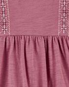 Ruffle Slub Jersey Jumpsuit, , hi-res