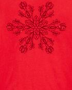 T-shirt flocon de neige, , hi-res