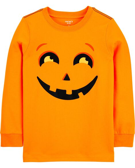 T-shirt en jersey citrouille d'Halloween