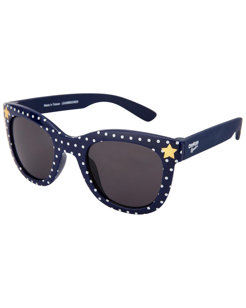 Starry Polka Dot Sunglasses, , hi-res