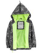 Dino Print Lightweight Windbreaker Jacket, , hi-res