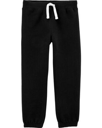 Pull-On Fleece Pants