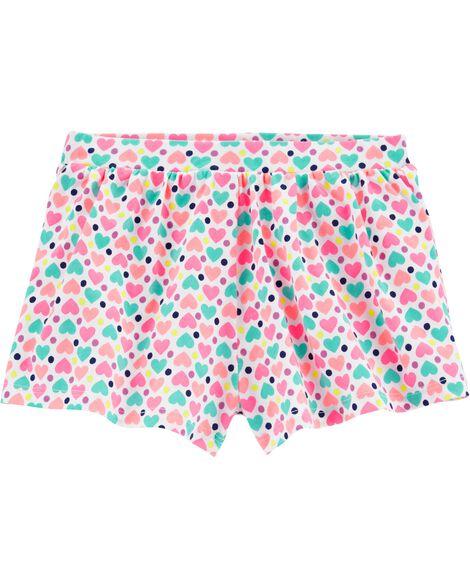 Polka Dot Flowy Shorts