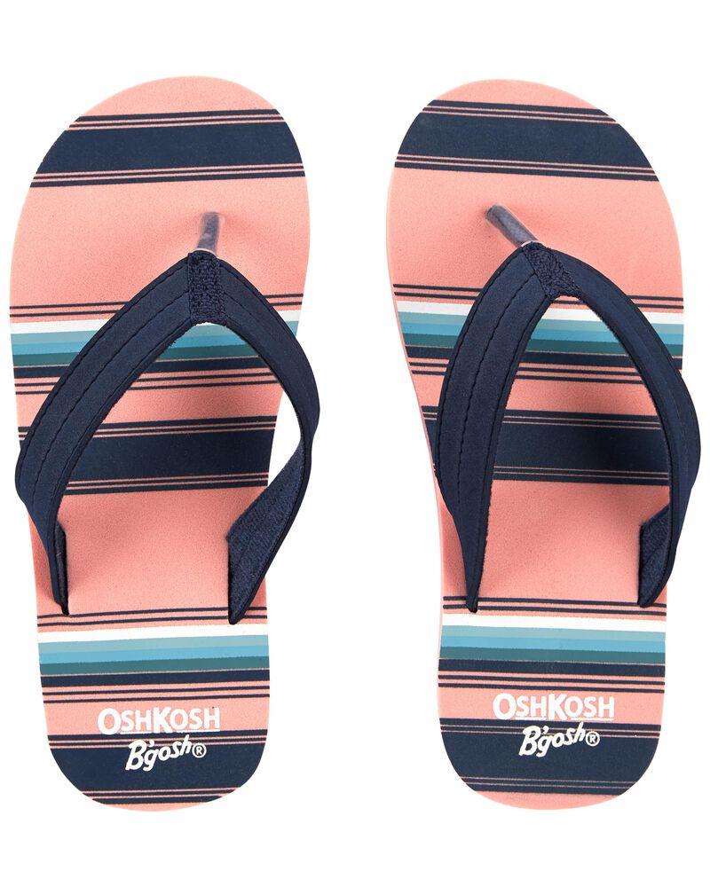 Striped Flip Flops, , hi-res