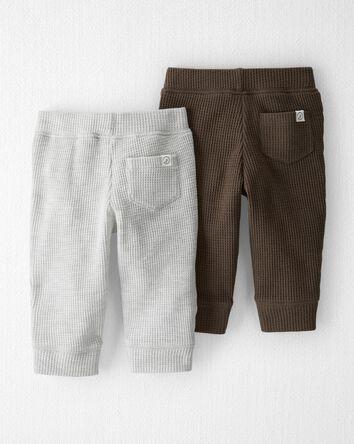 Emballage de 2 pantalons en coton i...