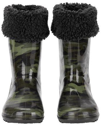 Bottes de pluie camouflage