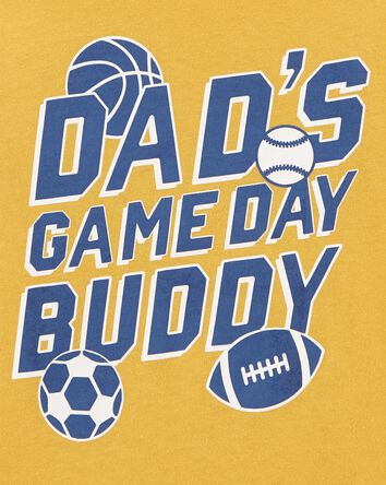 T-shirt en jersey Dad's Game Day Bu...