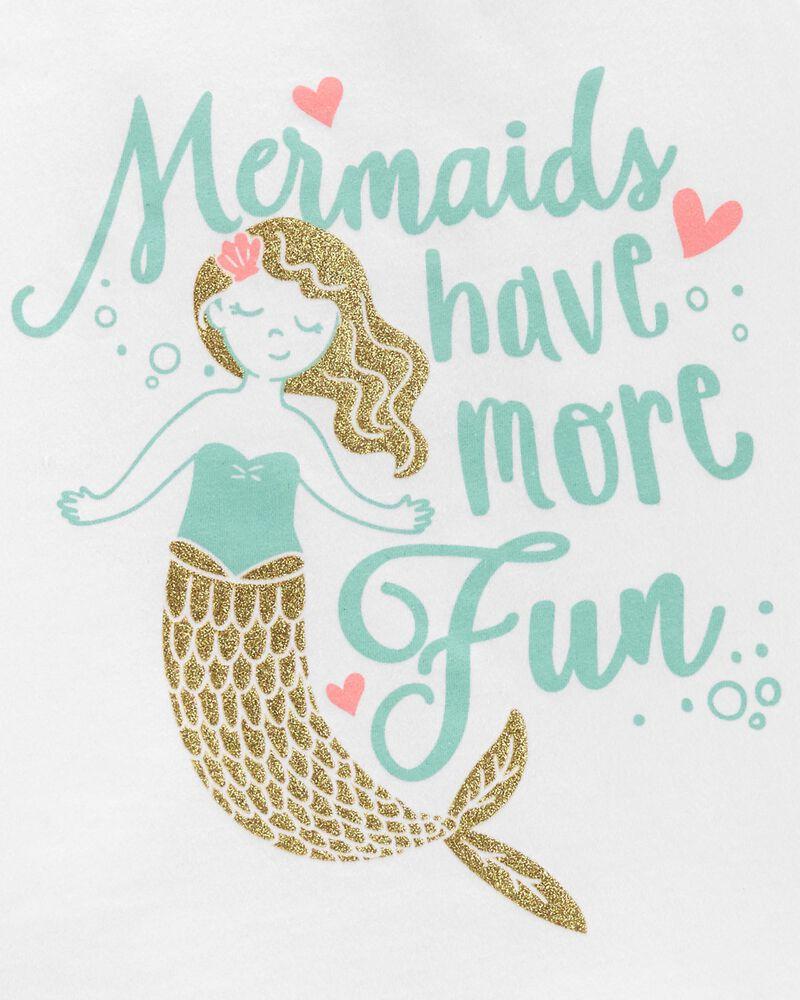 2-Piece Mermaid Jersey Tank & Short Set, , hi-res