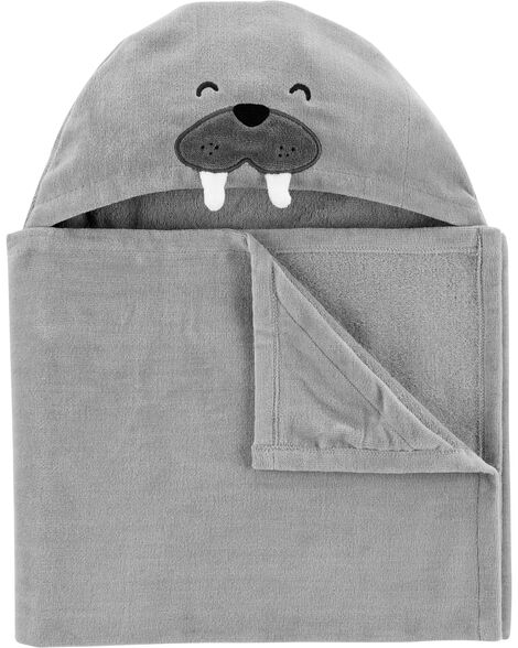 Walrus Hooded Towel