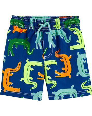 Alligator Swim Trunks