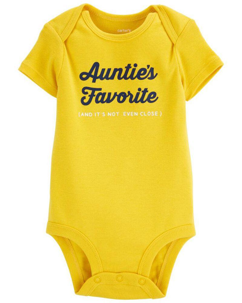 Auntie's Favorite Original Bodysuit, , hi-res