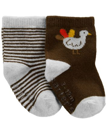 2-Pack Thanksgiving Booties