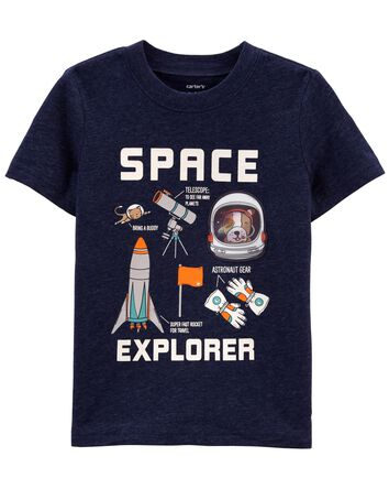 T-shirt en jersey Space