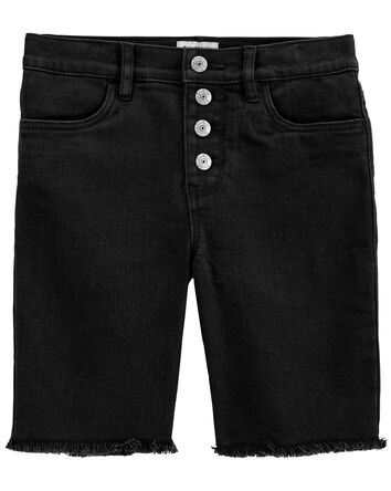 Stretch Skimmer Shorts in Black Enz...