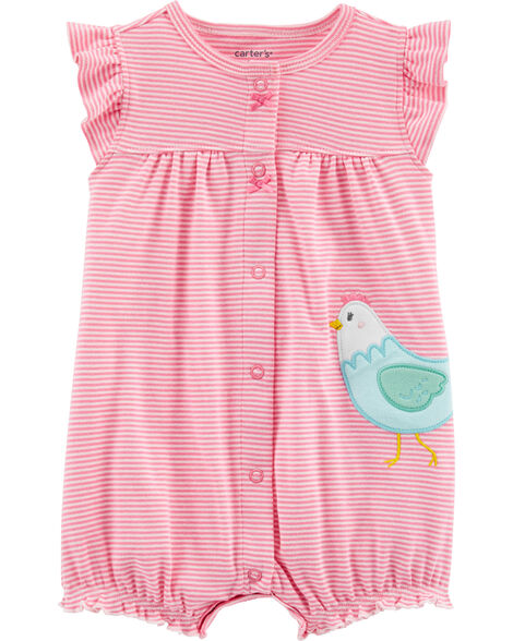Chicken Snap-Up Romper