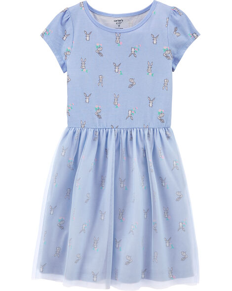 Bunny Tutu Jersey Dress