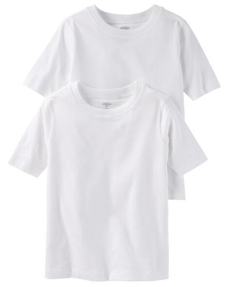 Lot de 2 t-shirts en coton