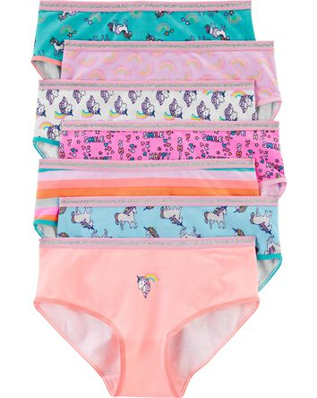 7-Pack Unicorn Stretch Cotton Undie...