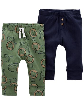 2-Pack Pull-On Pants