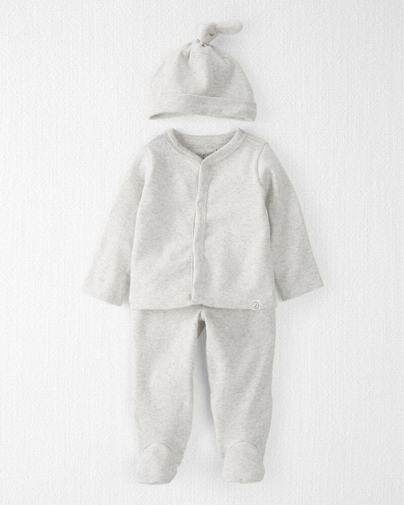 3-Piece Organic Cotton Coming Home Set, , hi-res
