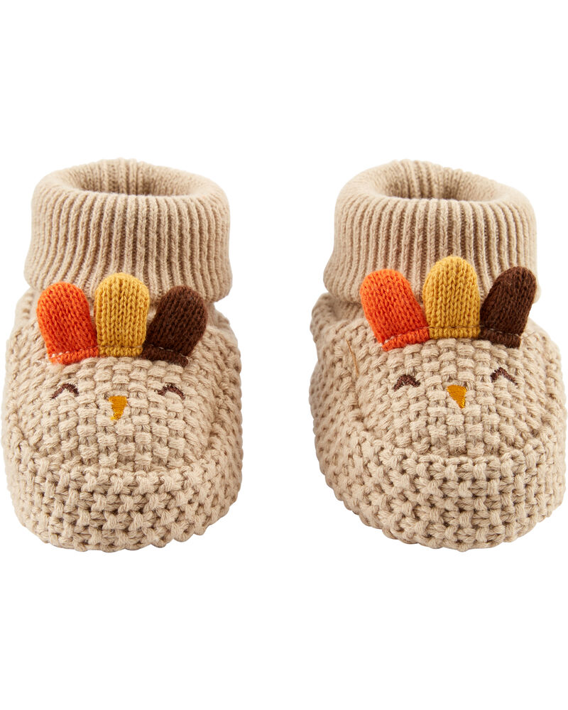 Thanksgiving Booties, , hi-res