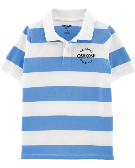 Polo à rayures rugby