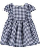 Gingham Dress, , hi-res