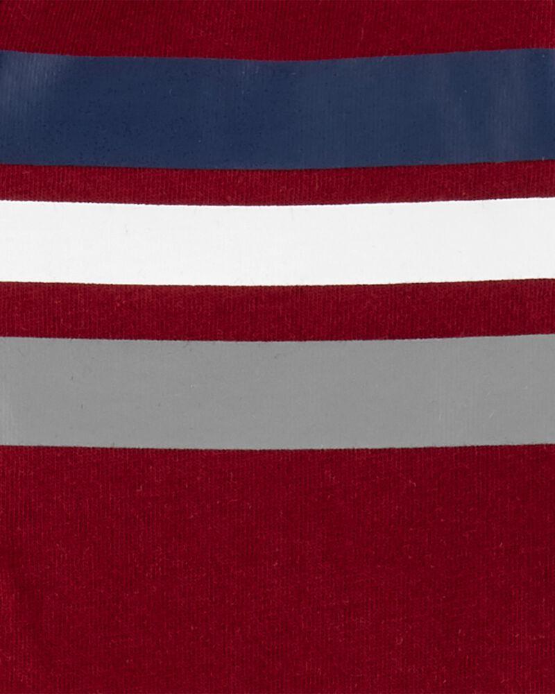 Striped Jersey Romper, , hi-res