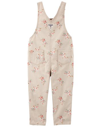 Floral Overalls
