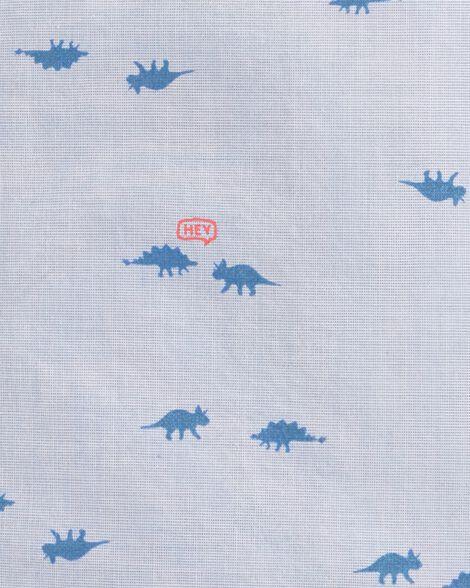 Haut boutonné à dinosaures