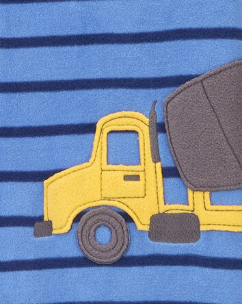1-Piece Construction Fleece Footles...