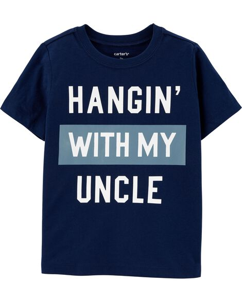 Hangin' With My Uncle Jersey Tee