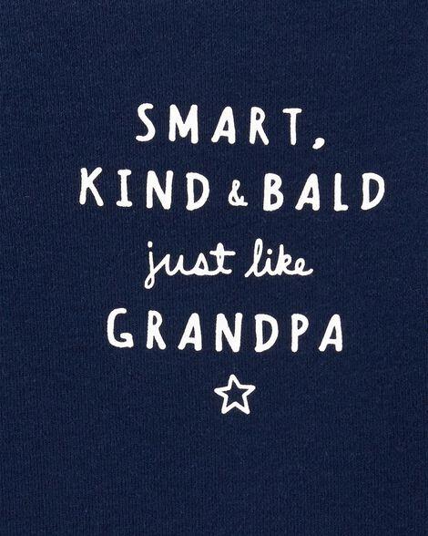 Cache-couche à slogan à collectionner Grand-père