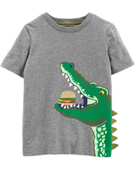 Alligator Hamburger Slub Jersey Tee