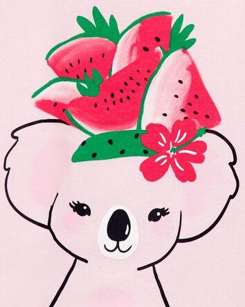 4-Piece Watermelon 100% Snug Fit Co...