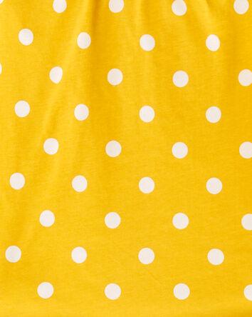 2-Piece Polka Dot Top & Slub Jersey...