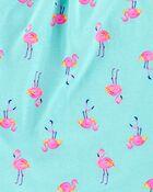 Flamingo Ruffle Tank, , hi-res