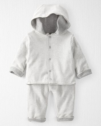 2-Piece Reversible Organic Cotton R...