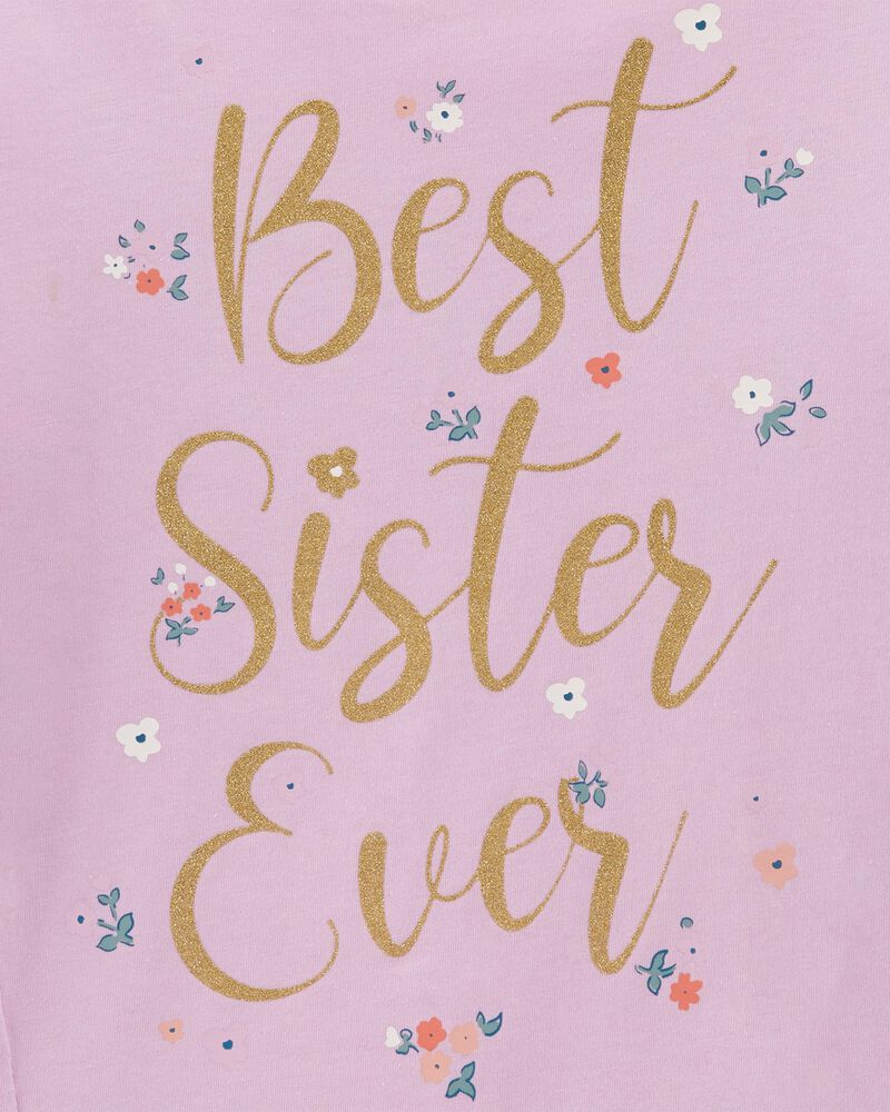 Best Sister Ever Jersey Tee, , hi-res