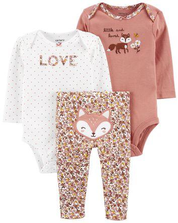 3-Piece Fox Outfit Set