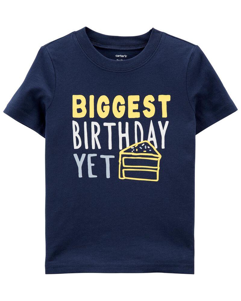 T-shirt en jersey Birthday, , hi-res