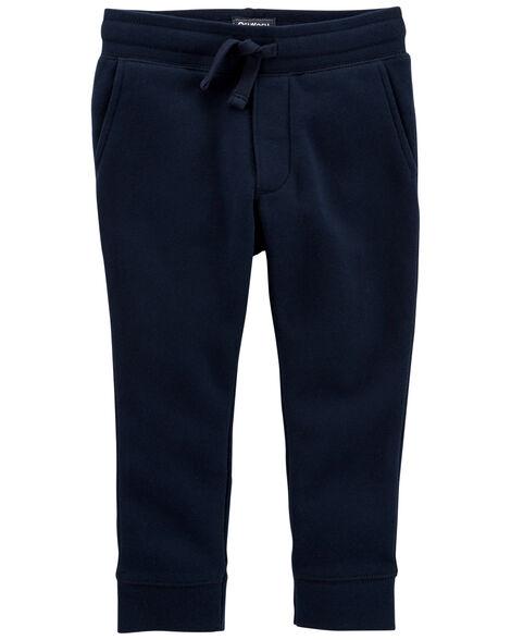 Pantalon de jogging molletonné