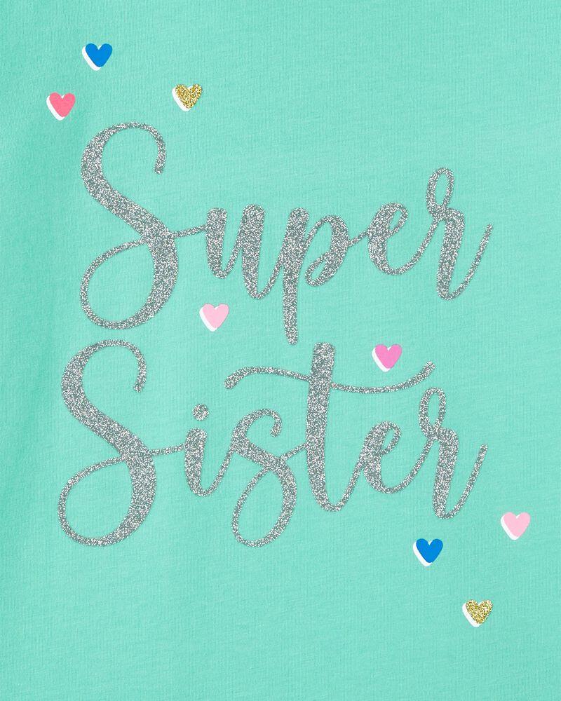 T-shirt en jersey Super Sister, , hi-res