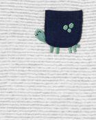 3-Piece Turtle Little Short Set, , hi-res