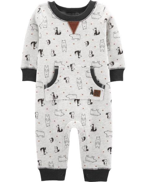 Dog Fleece Jumpsuit