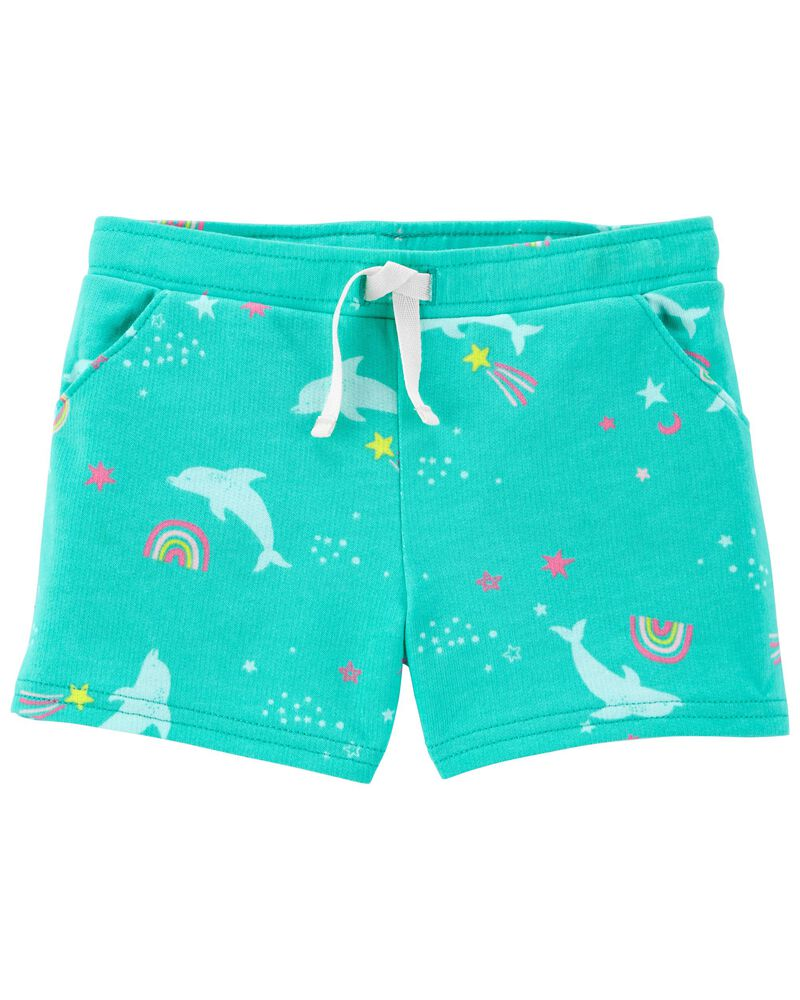 Dolphin Pull-On Shorts, , hi-res