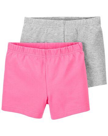 Emballage de 2 shorts extensibles