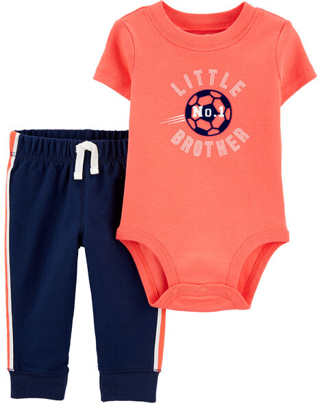 2-Piece Little Brother Bodysuit Pant Set